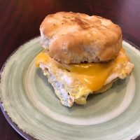Egg and Cheese Breakfast Sandwich